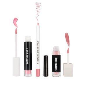 BNIB Realher Lip kit in Neutral Pink